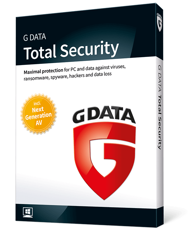 G DATA Total Security 1 PC 1 Year