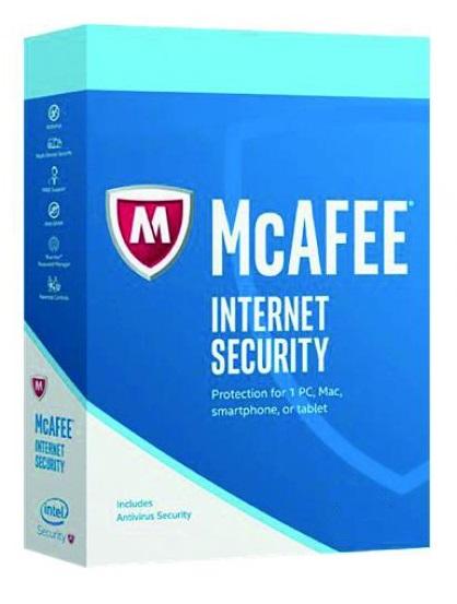 McAfee Internet Security 2019 5 YEARS 1 PC key [MIS 5 1